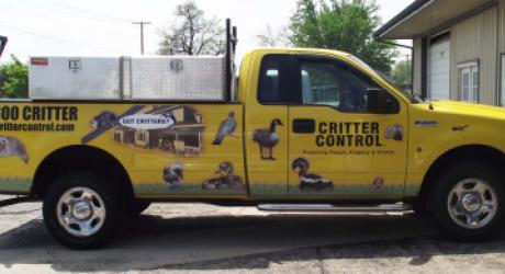 Critter Control: provided graphics installed