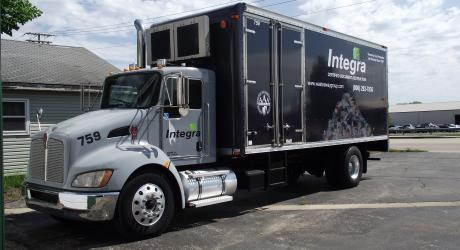 Integra Truck Full Wrap: printed, laminated and installed by Coach Guard