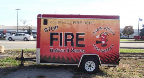 Elkhart Fire Department: designed, printed, laminated and installed