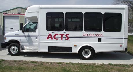ACTS: printed, laminated and installed by Coach Guard