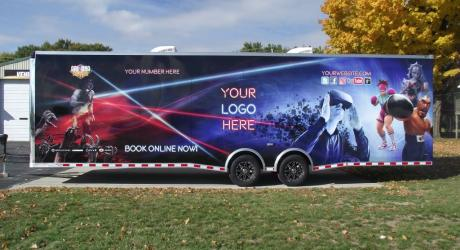 VR Trailer: designed, printed, laminated and installed by Coach Guard